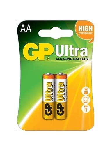 GP Ultra Alkalin Pil AA Kalem 2'li Paket Renksiz